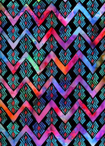 Diamond-Chevron-Pop-Art-Print-by-SchatziBrown-wallpaper-wp4605373