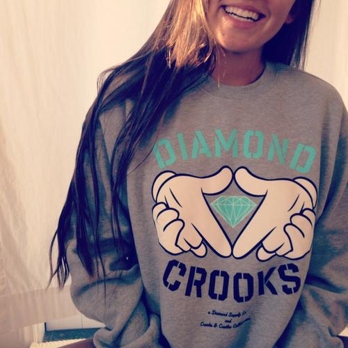 Diamond-Crooks-Sweatshirt-Hoodie-Blue-Gray-White-Turquoise-Cute-Swag-wallpaper-wp424955