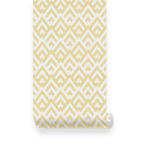 Diaper-Geometric-Pattern-Yellow-Removable-by-WallPlays-wallpaper-wp3004959