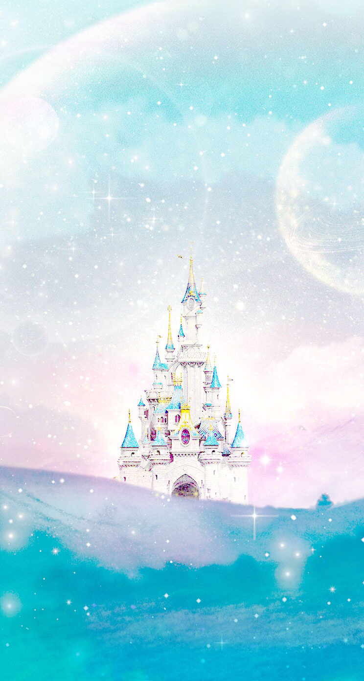 Disney-castle-Line-iphone-wallpaper-wp424974