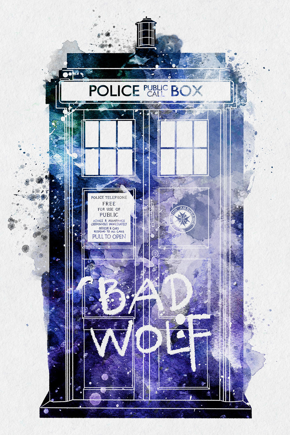 Doctor-Who-Tardis-by-PenelopeLovePrints-Digital-watercolor-artworks-that-are-playful-yet-detailed-wallpaper-wp5404594