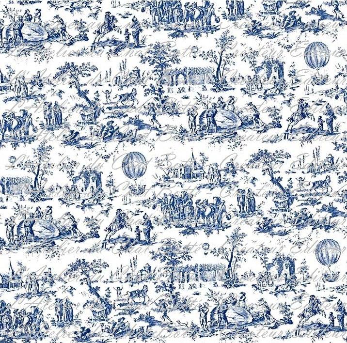 Dollhouse-Papier-Peint-Maison-de-Poupée-Toile-de-Jouy-réf-P-€-wallpaper-wp46011427-1