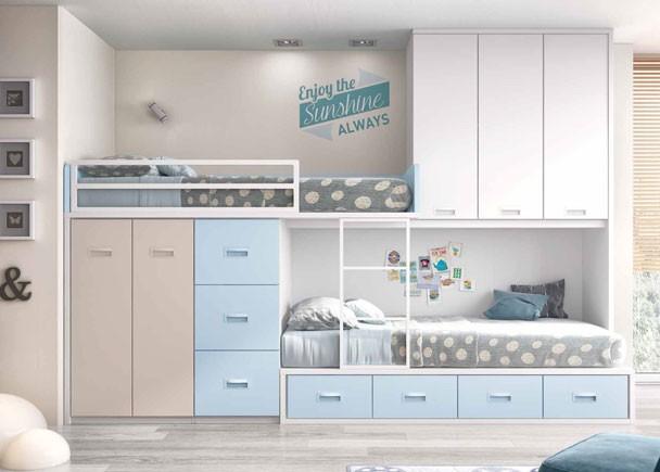 Dormitorio-infantil-con-camas-tipo-Tren-wallpaper-wp5205933