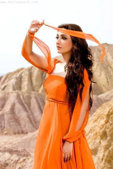 Download-Girl-in-orange-Profile-pics-for-girls-for-your-mobile-cell-phone-wallpaper-wp4406492