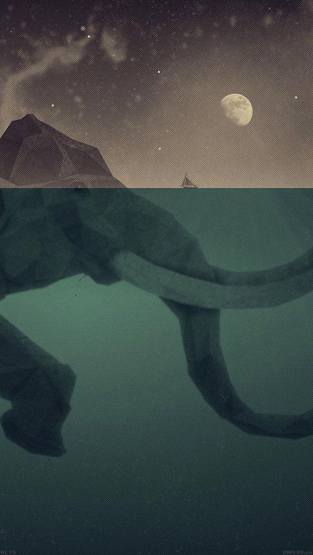 Download-http-goo-gl-yfjvd-ac-elephant-illust-sea-swim-art-via-freeios-co-wallpaper-wp5805200