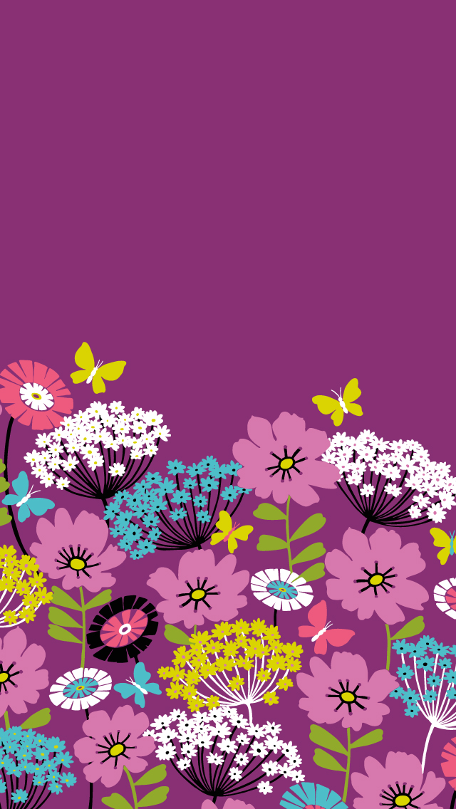 Dress-your-tech-Flutterby-Mobile-Vera-Bradley-wallpaper-wp425044