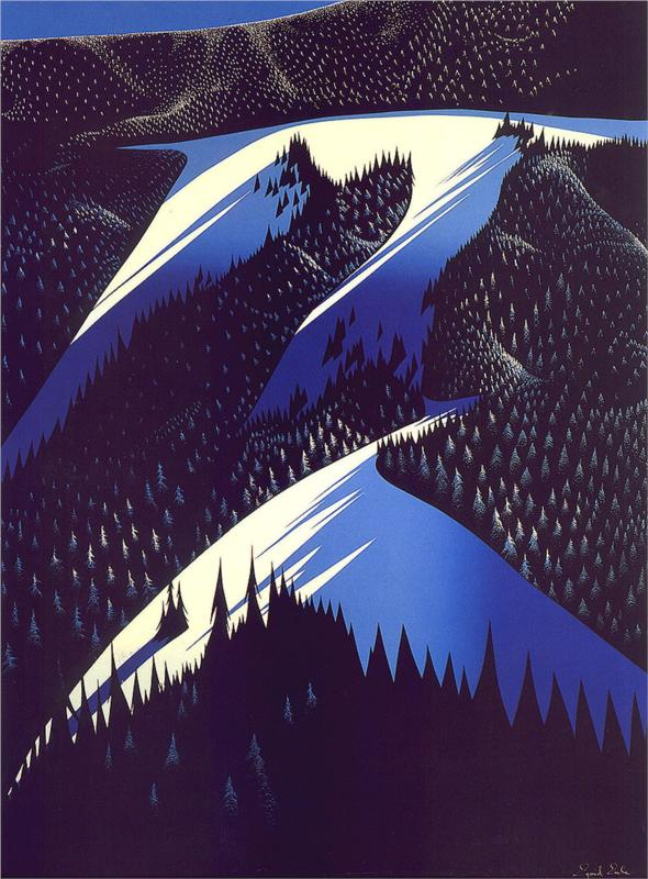 Early-Autumn-Eyvind-Earle-WikiPaintings-org-Serigraph-wallpaper-wp5404716
