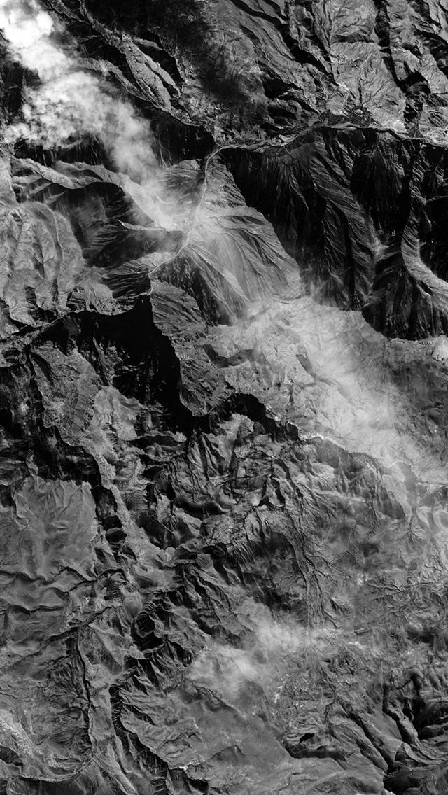 Earthview-Landscape-Mountain-Nature-Dark-Bw-iPhone-s-wallpaper-wp425089