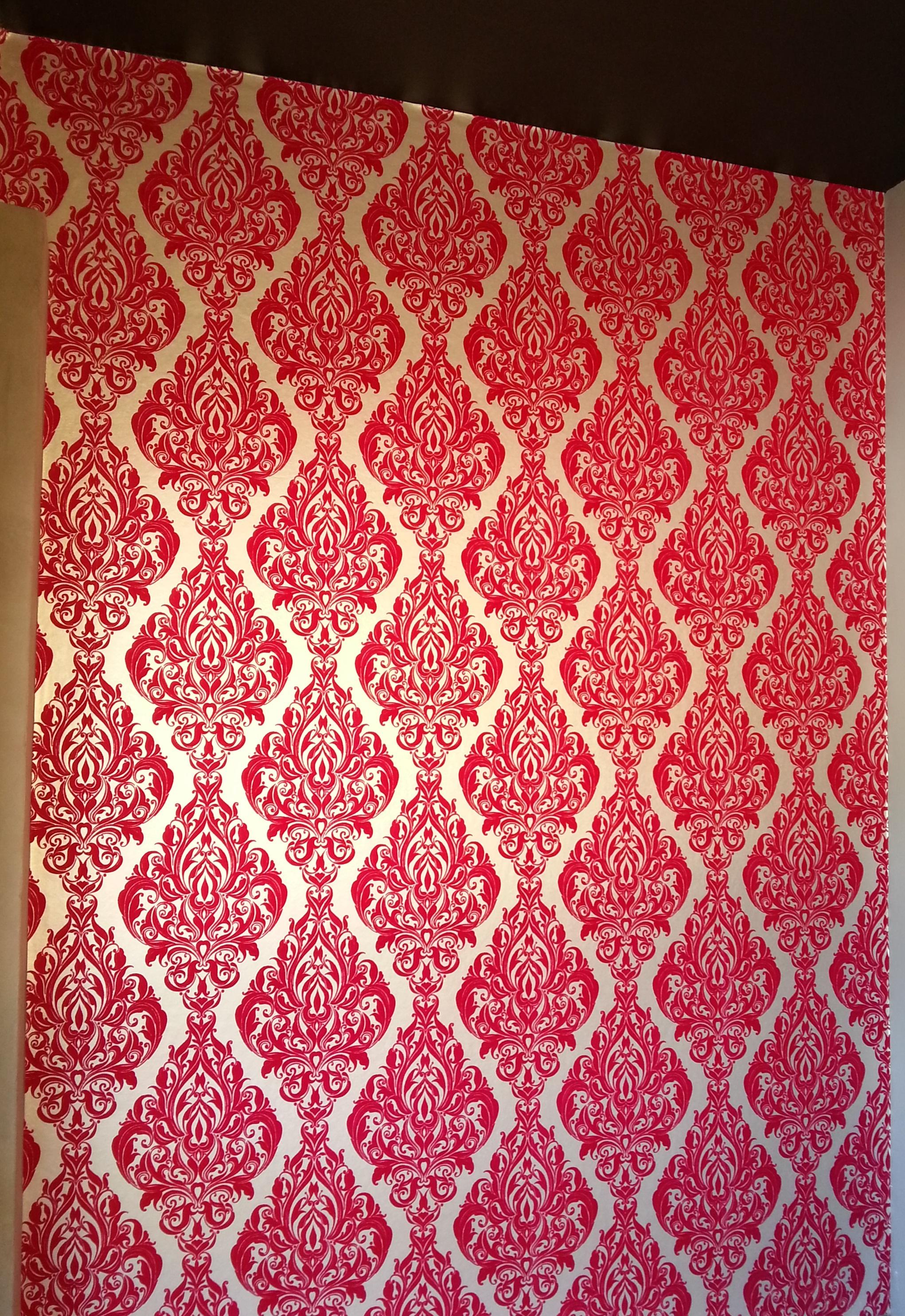 Elegant-Red-Flock-Installation-by-Sydney-Wallp-wallpaper-wp5007085