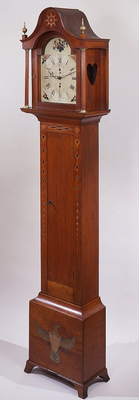 Eli-Terry-Federal-inlaid-and-painted-cherry-tall-case-clock-Plymouth-Connecticut-circa-Pri-wallpaper-wp425135