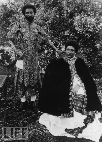 Emperor-Haile-Selassie-Empress-Menen-in-Life-Magazine-wallpaper-wp425191