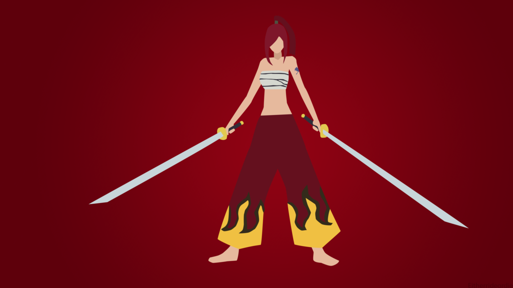 Erza-Fairy-Tail-Anime-Minimalist-by-eitherrideordie-wallpaper-wp5404805