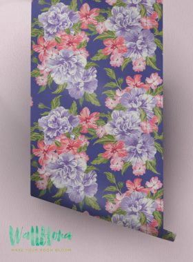 Hawaiian Flower Removabe wallpaper
