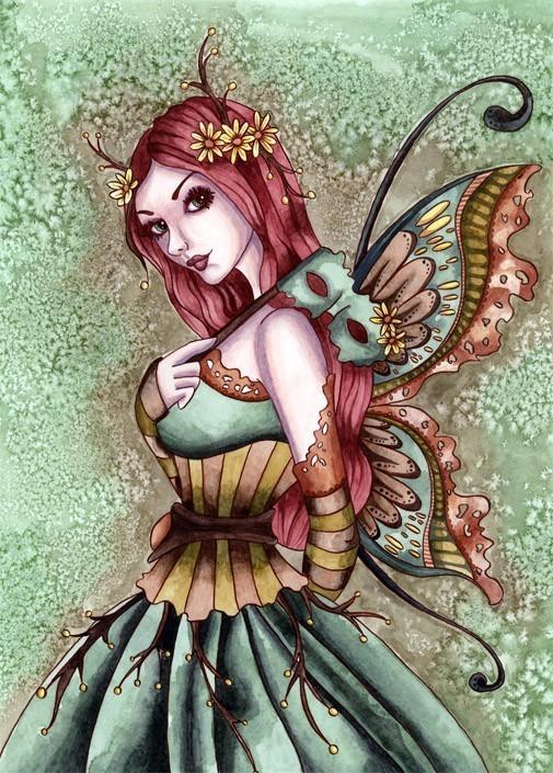 Fairy-Art-Fairy-ACEO-PRINT-Fantasy-Art-Masquerade-Fall-Fairy-Print-Arden-by-Nikki-Burnette-wallpaper-wp5805527
