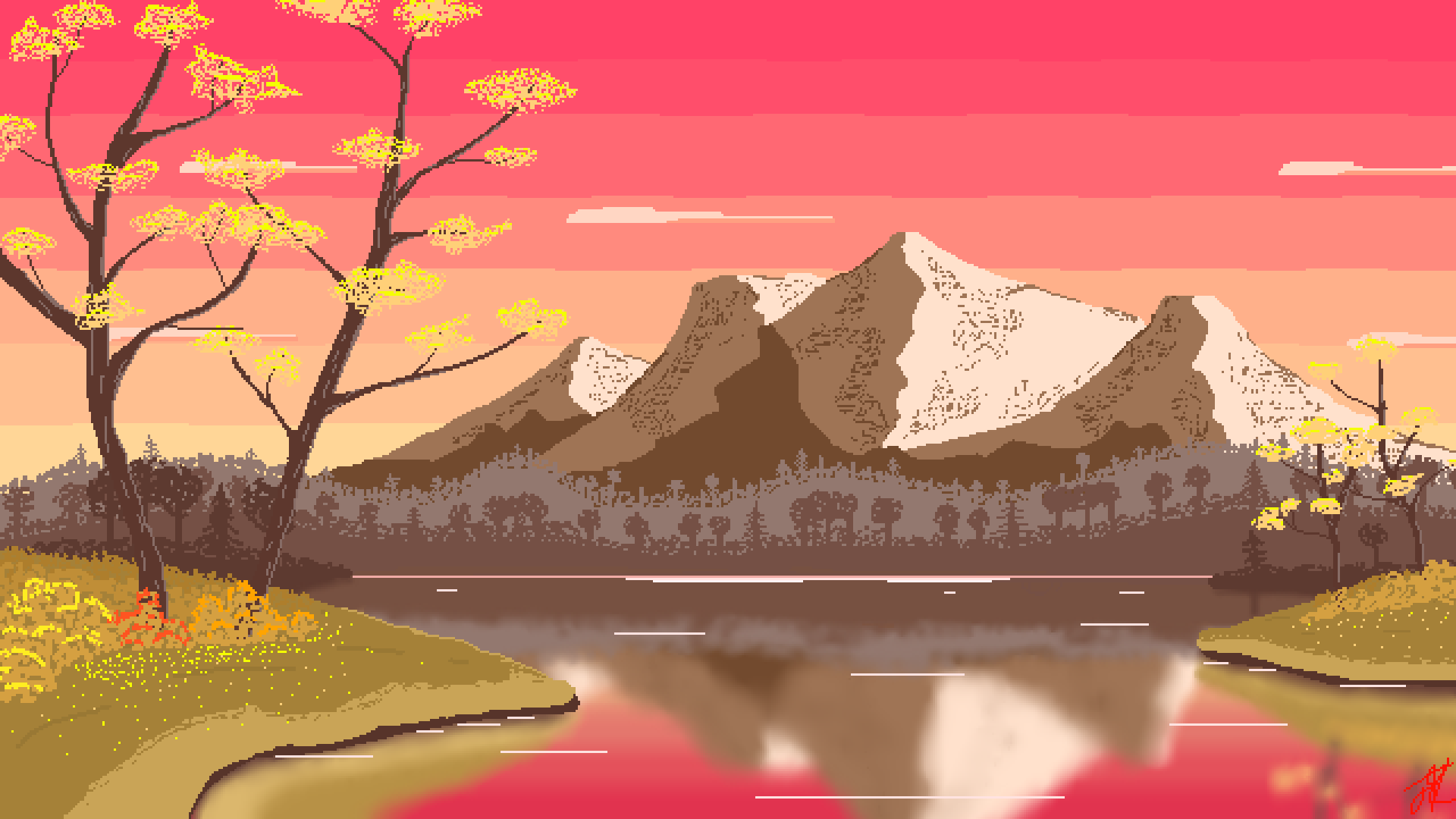 Fall-Mountains-Pixel-Art-1920x1080-Need-iPhone-S-Plus-Background-for-IPhoneSPlus-wallpaper-wp3405379