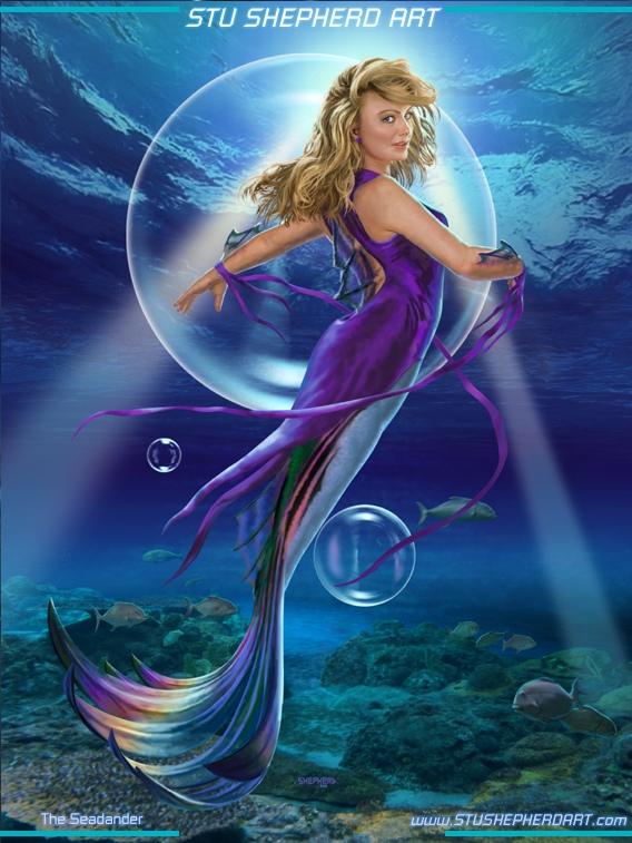 Fantasy-Mermaids-Art-Science-Fiction-Art-Fantasy-Art-Prints-by-Stu-Shepherd-wallpaper-wp5206378
