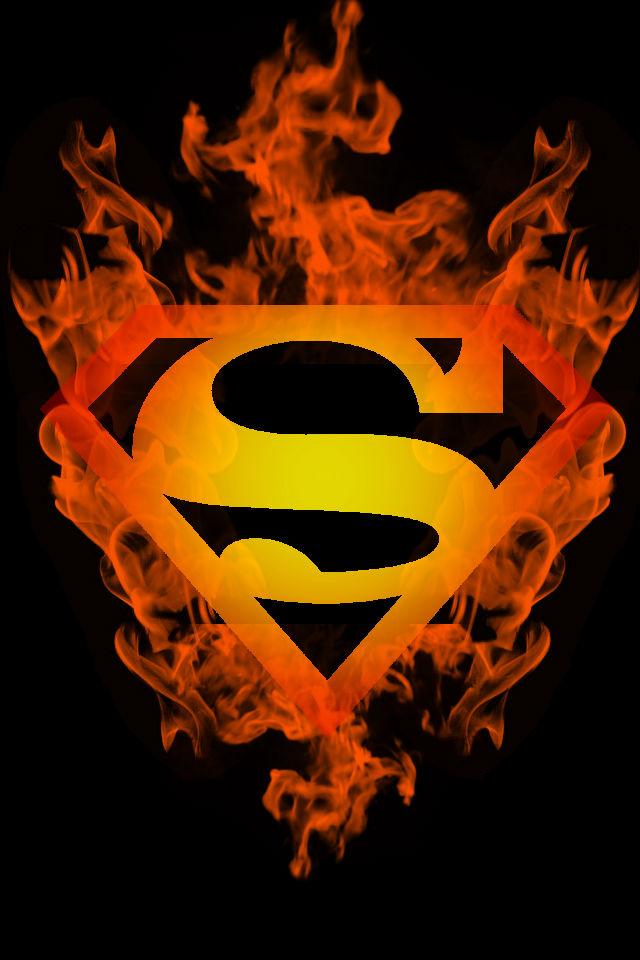 Fire-Superboy-logo-wallpaper-wp425429