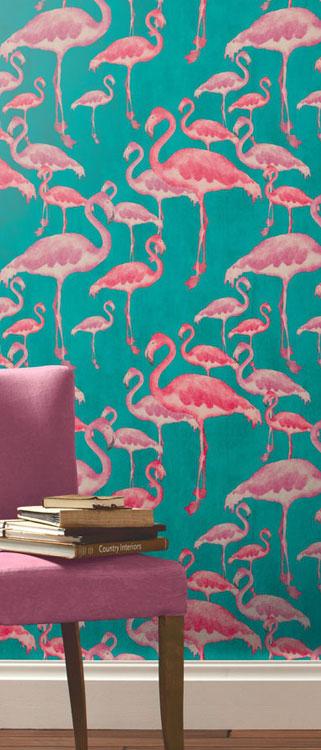 Flamingo-Beach-Fuschia-Designer-A-Shade-Wilder-wallpaper-wp5805659