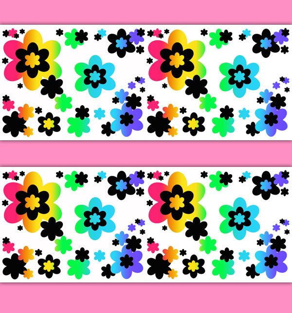 Floral-Border-Rainbow-Decals-Wall-Art-Teen-Girls-Room-Flower-Stickers-decampstudios-wallpaper-wp3005730