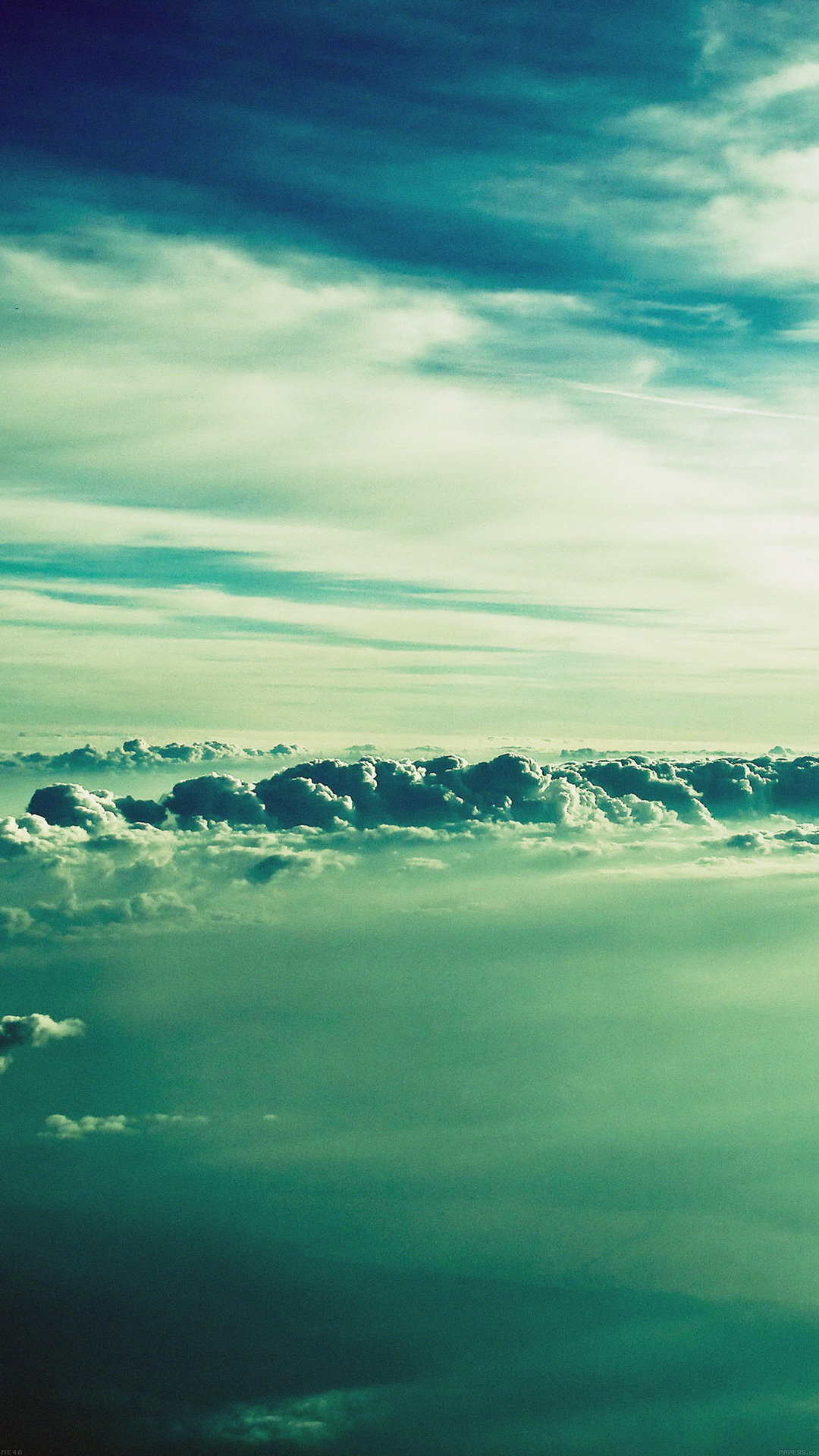 Fluffy-Clouds-Sky-View-wallpaper-wp4605939