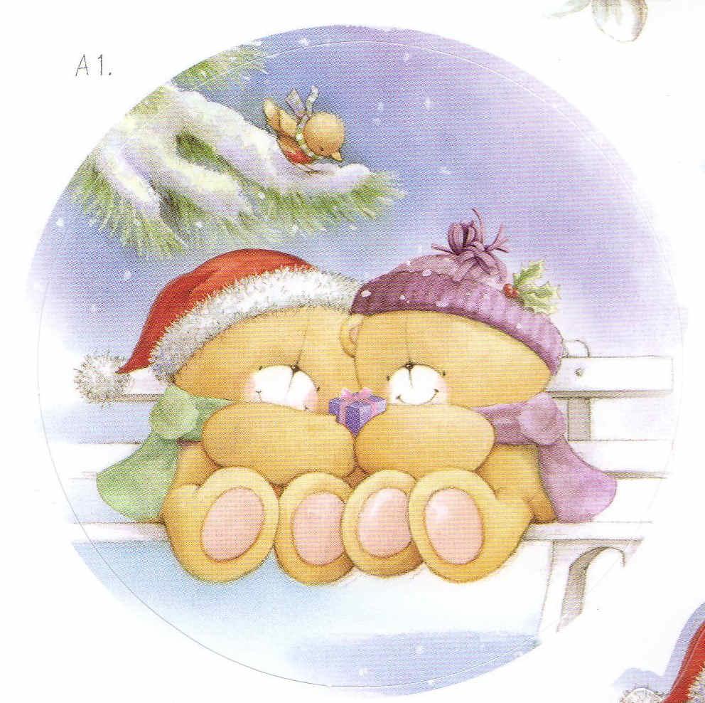 Forever-Friends-Forever-Friends-Navidad-tamaño-grande-wallpaper-wp520892