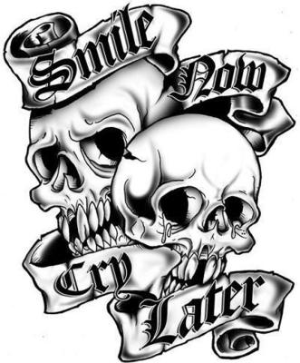 Free-smile-now-cry-later-phone-by-bigsal-wallpaper-wp4407218
