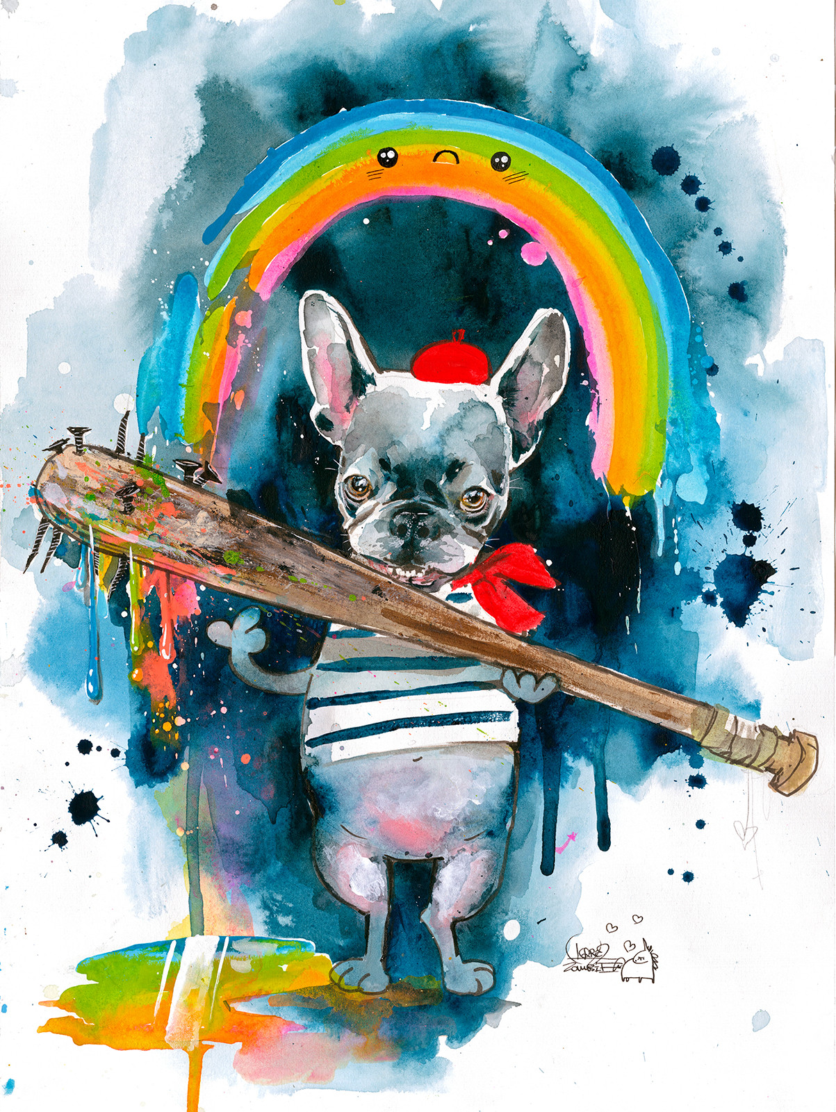 Frenchie-by-Lora-Zombie-Fine-art-prints-of-Frenchie-are-available-at-Eyes-On-Walls-wallpaper-wp5605053