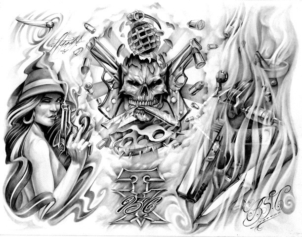 Gangster-Tattoo-Flash-awasteoftalent-gangsta-tattoo-flash-at-Bluecanvas-The-Artist-wallpaper-wp4407346