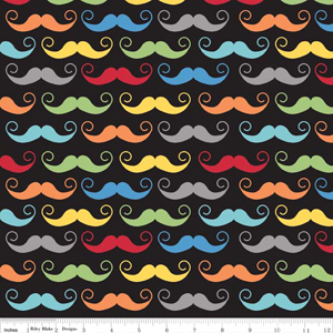 Geekly-Mustache-in-Black-available-at-XOGigi-Fabric-wallpaper-wp4606183