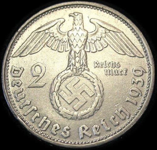 German-Silver-Coin-Paul-von-Hindenburg-Commemorative-Coin-waterwrestler-Nazis-wallpaper-wp5806003