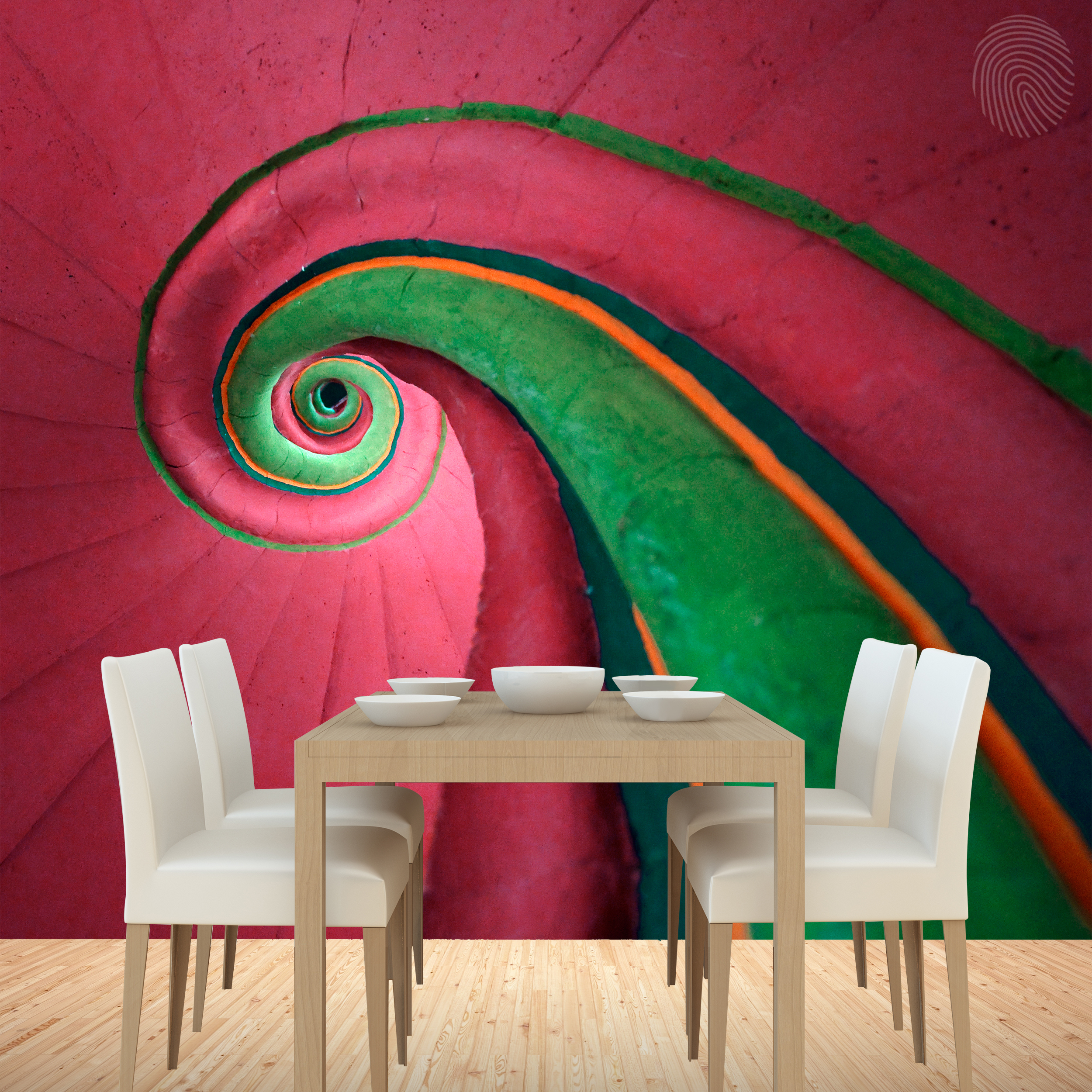 Get-lost-in-this-colourful-swirl-design-that-seems-to-just-keep-on-going-With-a-flash-of-green-swir-wallpaper-wp3006068