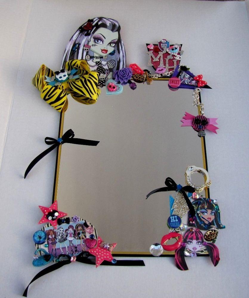Girls-Monster-High-Bed-Bathroom-Decorative-Wall-Mirror-Home-Teens-Room-Decor-Handmade-KidsM-wallpaper-wp5605175