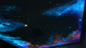Ceilings Night Sky wallpaper