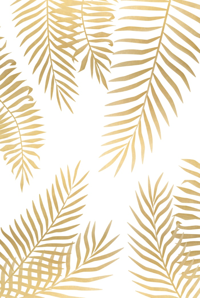 Gold-palm-leaves-Art-Print-wallpaper-wp425755
