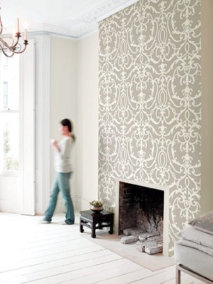 Great-way-to-make-the-fireplace-stand-out-Ideas-for-mantel-in-dining-room-wallpaper-wp4407595