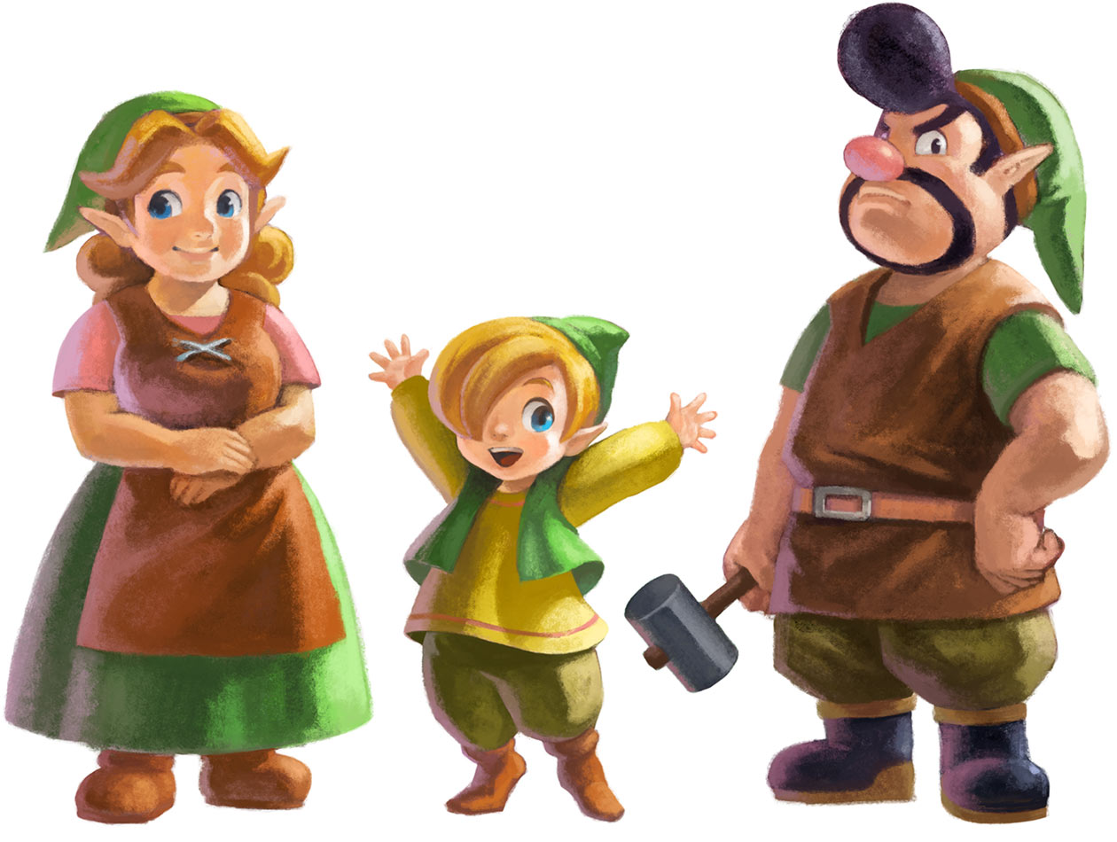 Gulley-s-Family-The-Legend-of-Zelda-A-Link-Between-Worlds-wallpaper-wp425905-1
