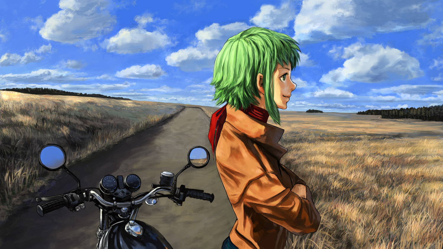 Gumi-and-Motorcycle-wallpaper-wp5806199