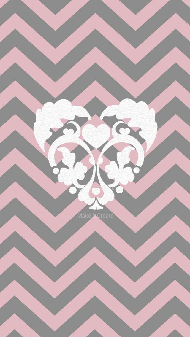 HEART-ON-CHEVRON-IPHONE-BACKGROUND-wallpaper-wp4005235-1