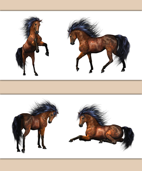 HORSES-BORDER-DECAL-Pony-Wall-Art-Farm-Barnyard-Animals-Stickers-Equestrian-Lover-Room-Wild-Stallion-wallpaper-wp3006691