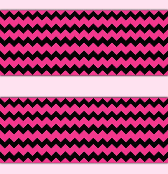HOT-PINK-CHEVRON-Border-Wall-Art-Decal-Teen-Girls-Room-Stickers-Decor-Baby-Nursery-Zig-Zag-wallpaper-wp3006701