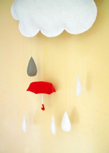 Happy-Raincloud-and-Umbrella-Felt-Mobile-Sweet-Tidings-wallpaper-wp5806300