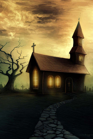 Haunted-Church-Android-HD-wallpaper-wp4606634