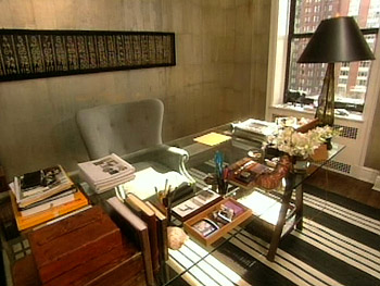 Here-is-Nate's-office-before-His-gl-top-sawhorse-desk-was-custom-made-The-rug-is-from-Ralph-L-wallpaper-wp4407871