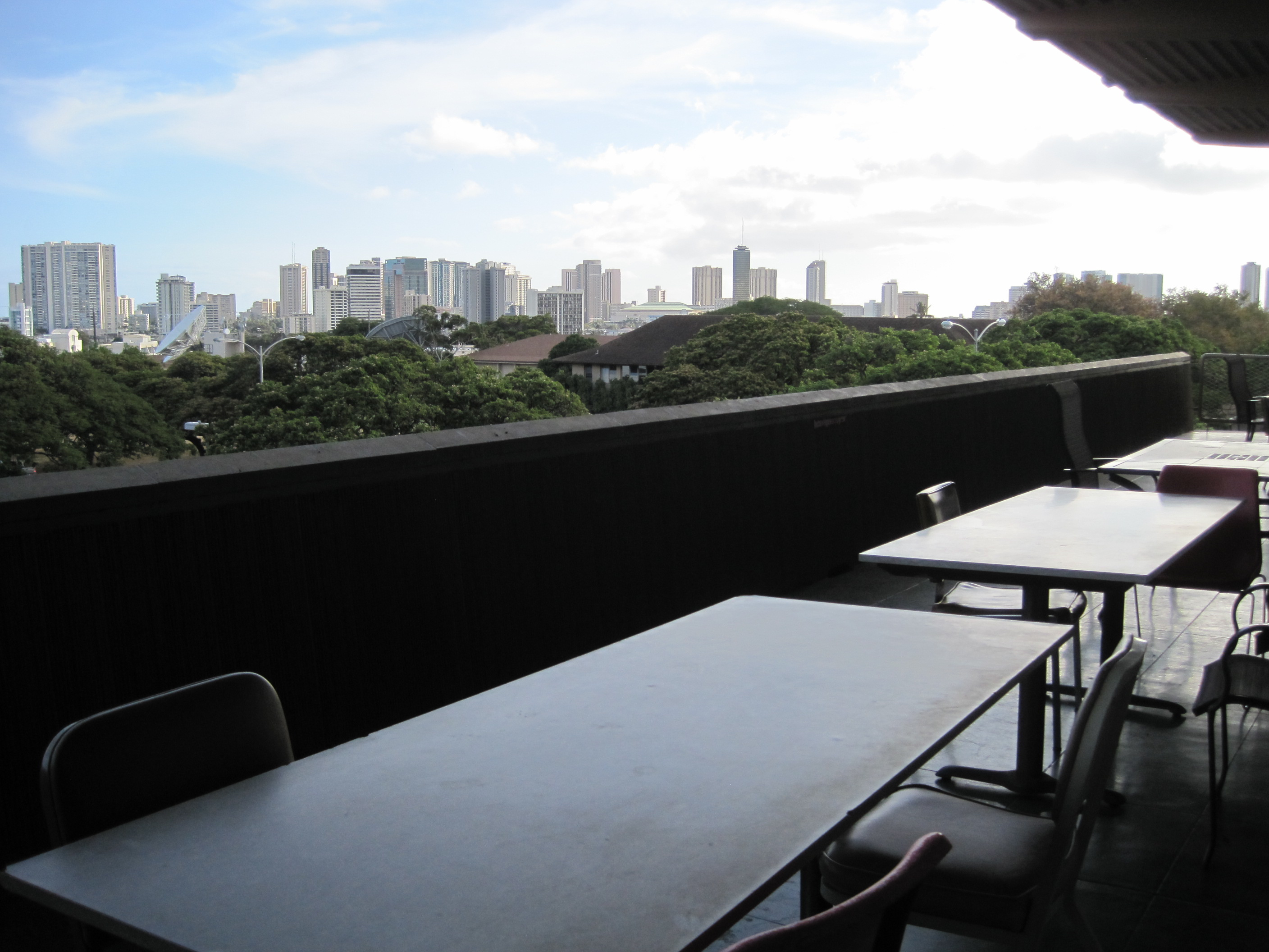 Honolulu-Cityscape-as-seen-from-second-floor-of-Sinclair-Library-at-the-University-of-Hawaii-wallpaper-wp4807289