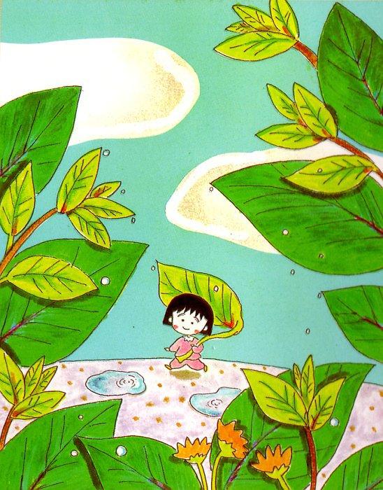 Ilustración-Chibi-Maruko-Chan-comic-japones-manga-y-serie-de-dibujos-animados-Illustration-C-wallpaper-wp426406