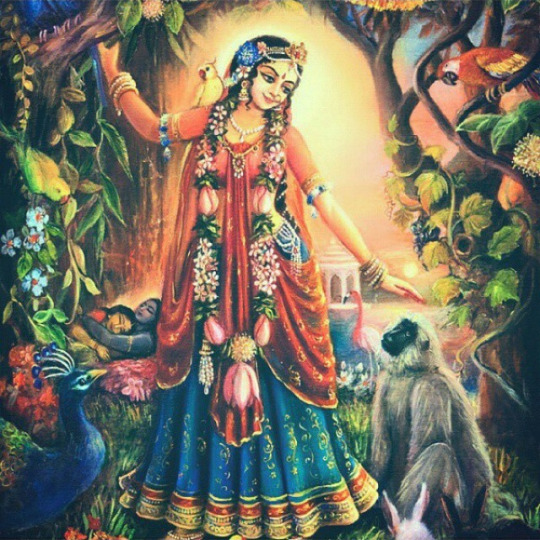 Instagram-Krishna-Radharani-Hinduism-wallpaper-wp5009089