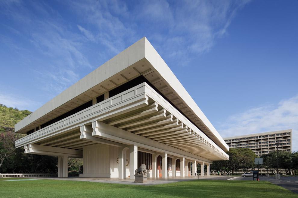 Jefferson-Hall-University-of-Hawaii-Honolulu-I-M-Pei-wallpaper-wp4807898