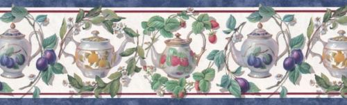 KITCHEN-CHINA-TEA-SET-FRUIT-Border-B-wallpaper-wp4005909