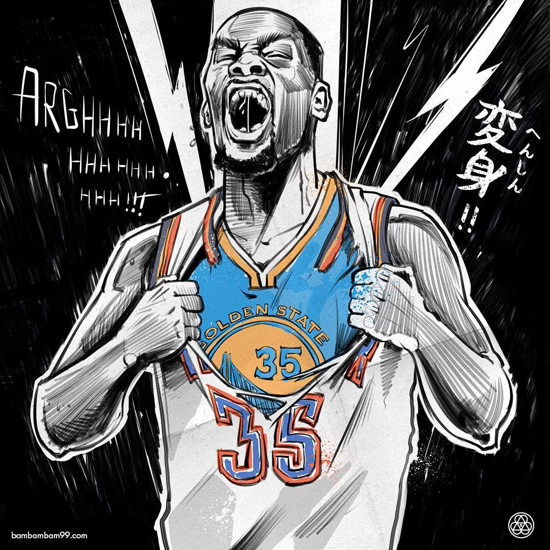 Kevin-Durant-The-Reveal-Illustration-wallpaper-wp3407746