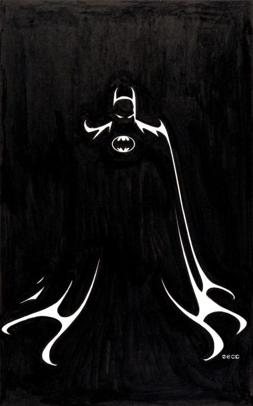 La-silueta-del-CaballerodelaNoche-y-un-superhéroe-legendario-Batman-•-Mike-Zeck-More-wallpaper-wp4607648-1